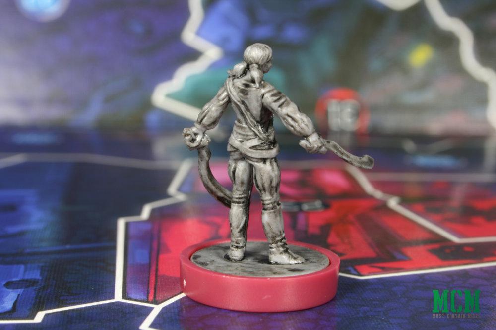 Elena Kurarin Miniature - Judge Dredd Helter Skelter Board Game - Nikolai Dante Gang