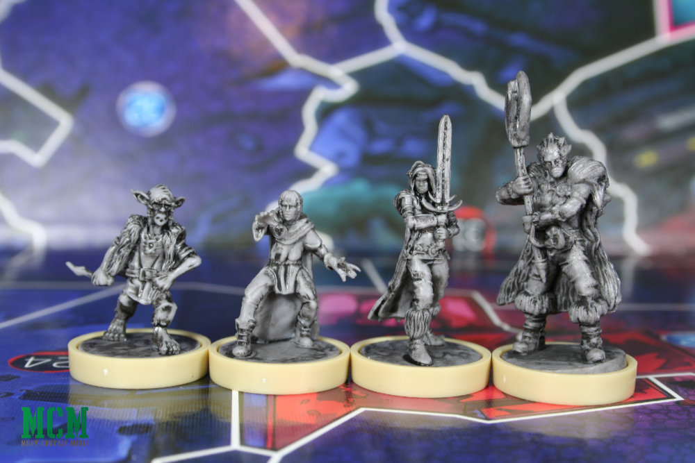 Slaine Miniatures Showcase from Judge Dredd Miniatures Board Game by Osprey Publishing