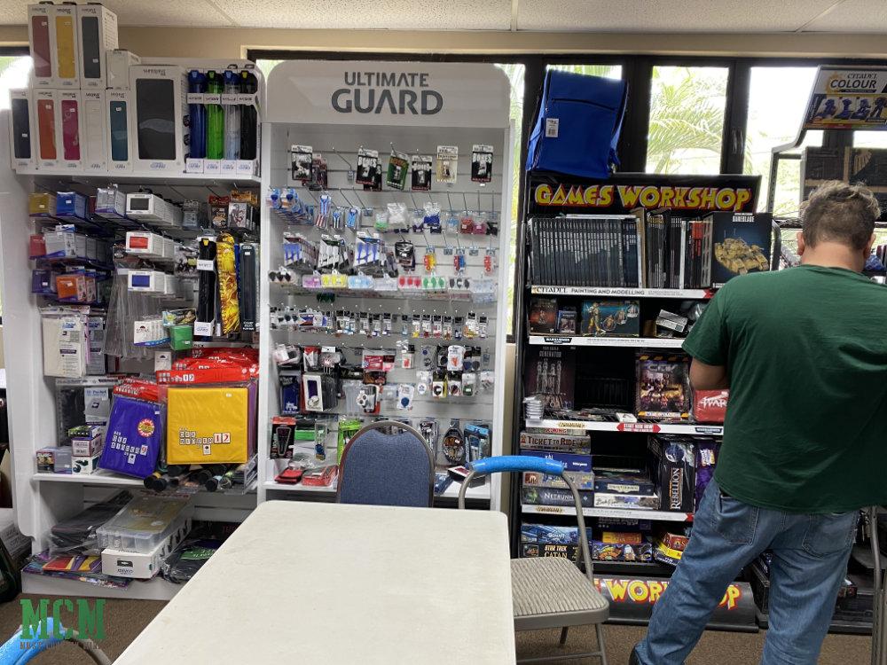 Game store in Kona Hawai'i