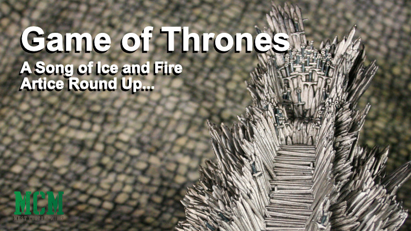 A Song of Ice and Fire Articles Round Up