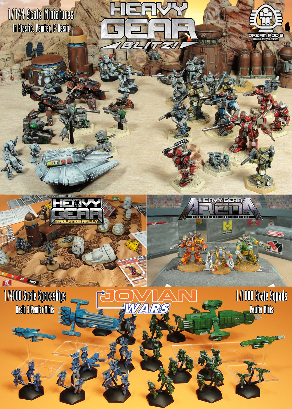 Dream Pod 9 Miniatures Games - Canadian Miniatures Gaming Companies