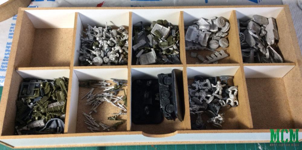 15mm Flames of War bits organization.
