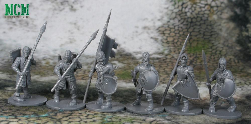 Living Dead Spear Warriors - Miniature Review Forgotten World