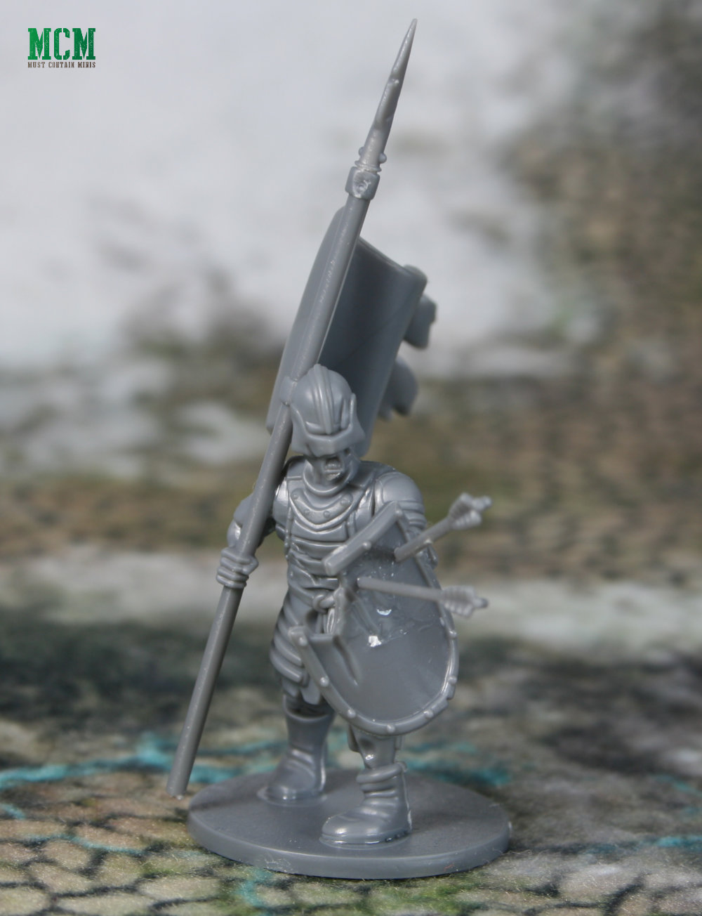 Living Dead Warrior banner man
