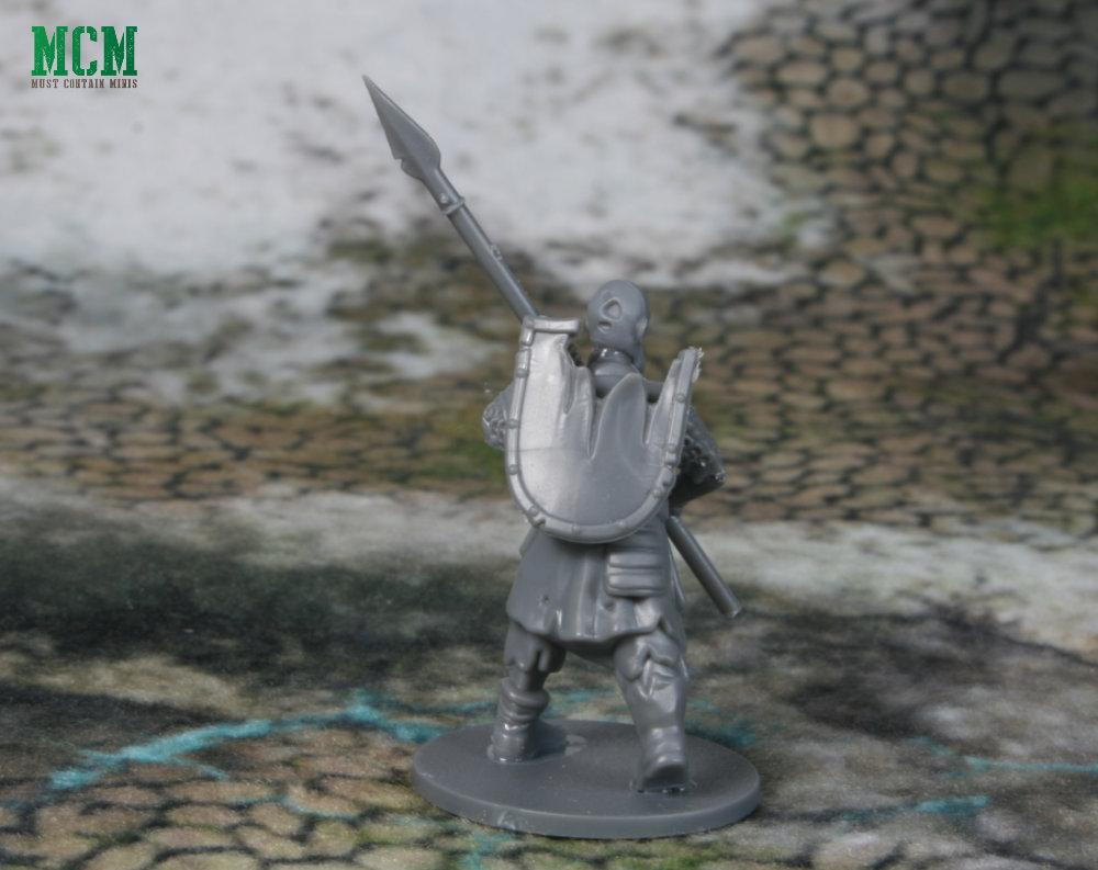 28mm undead spearman miniature