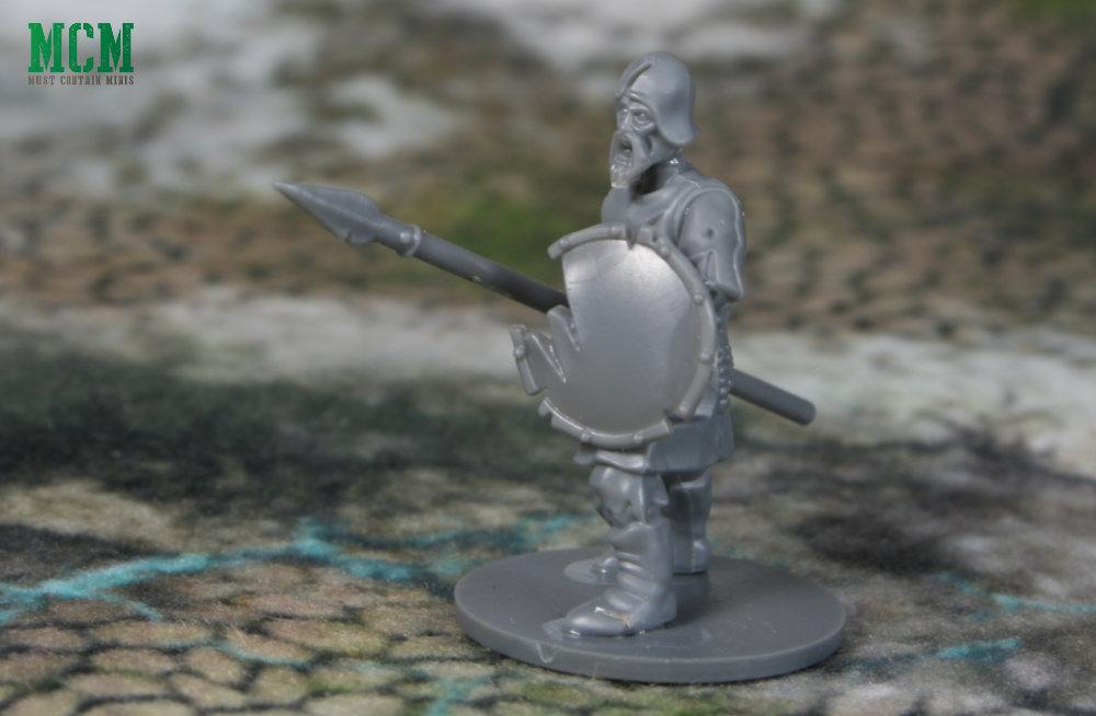 Zombie Warrior 28mm undead miniature