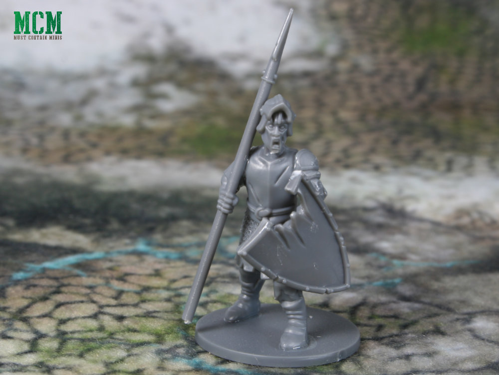 28mm Spear armed undead warrior