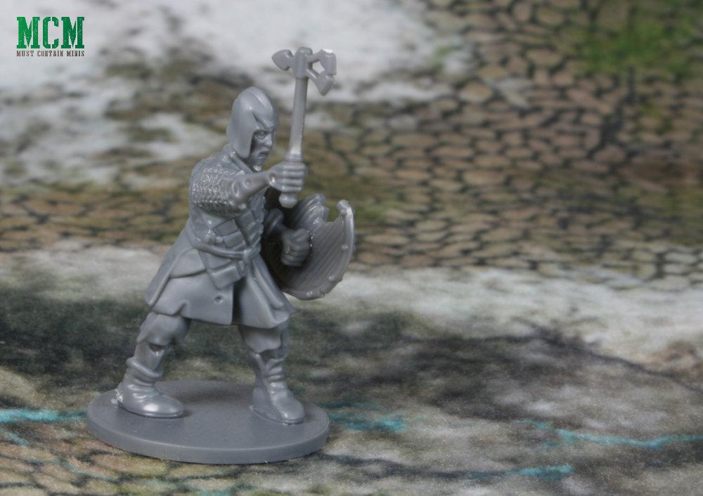 28mm Undead Warrior Miniature - Zombie Warrior