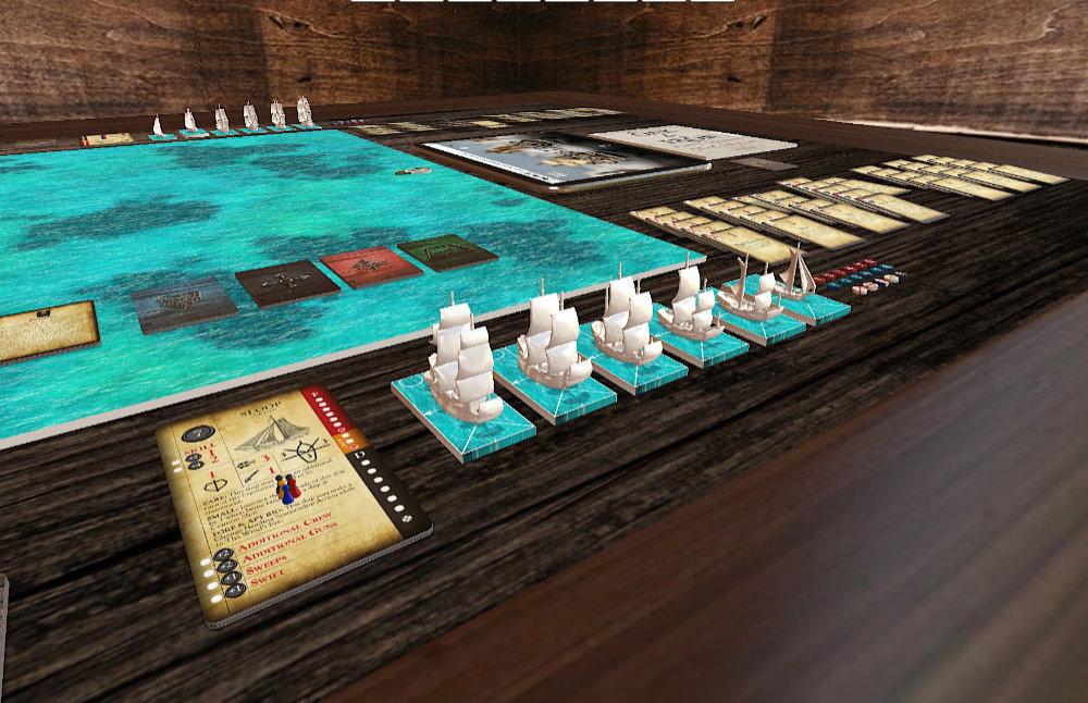 Oak & Iron on Tabletop Simulator