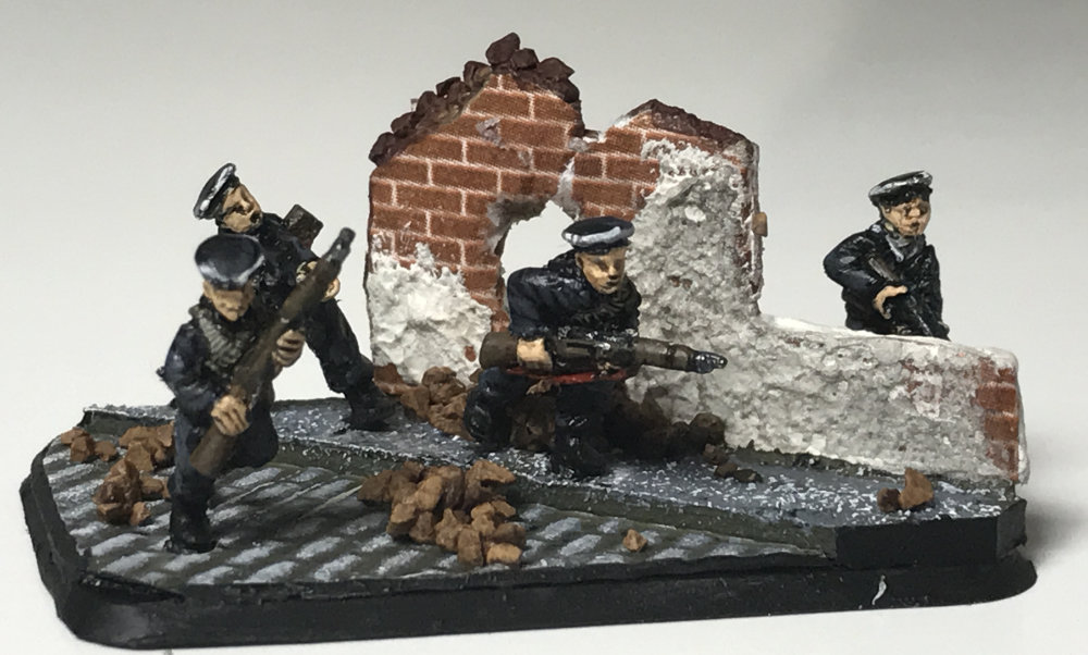 15mm Strelkovy Platoon by Battlefront Miniatures for Flames of War. Painted by Brenden Brown.