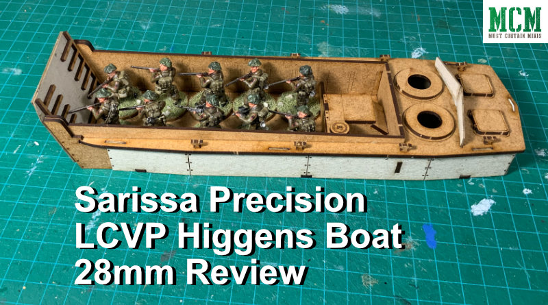 Read more about the article Review – Sarissa Precision LCVP Higgins Boat