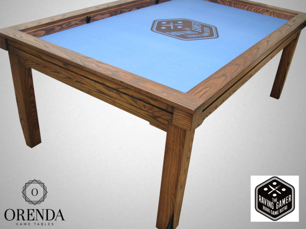 A Canadian built board game, card game and miniature wargaming table - Orenda Game Tables