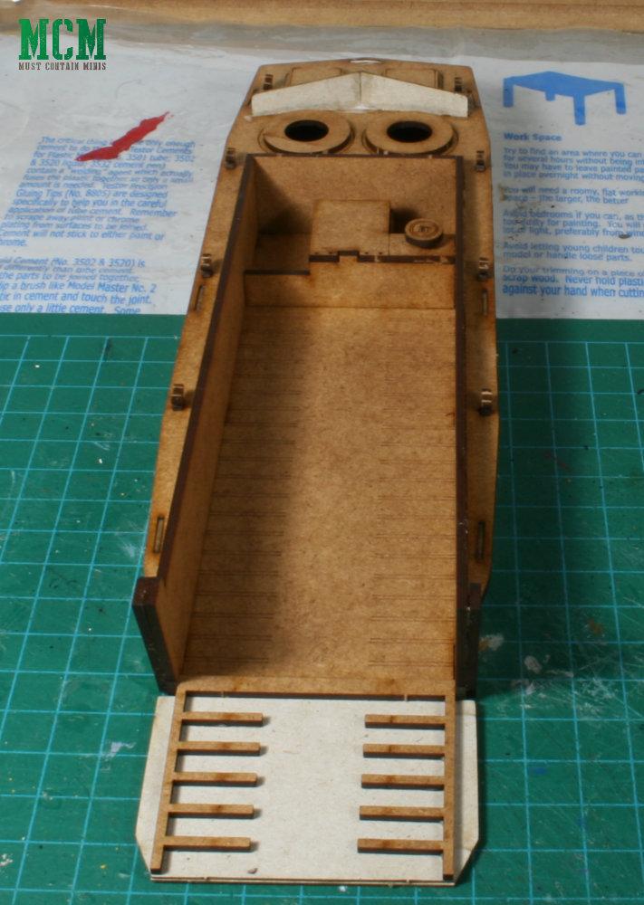 Sarissa Precision Landing Craft with a working ramp