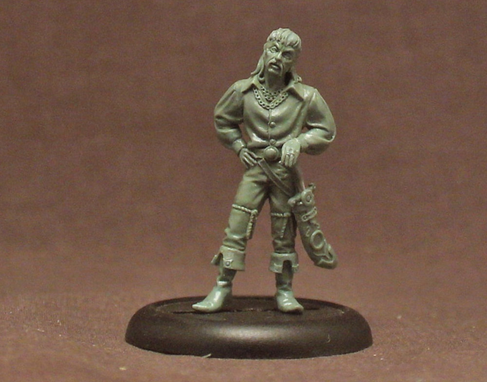 The Tiger King Joe Exotic Miniature - likely 32mm in scale for Dungeons and Dragons.