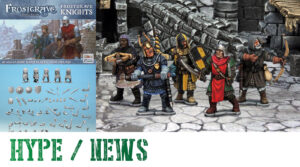 Read more about the article Plastic Frostgrave Knights – Power in the Frozen City