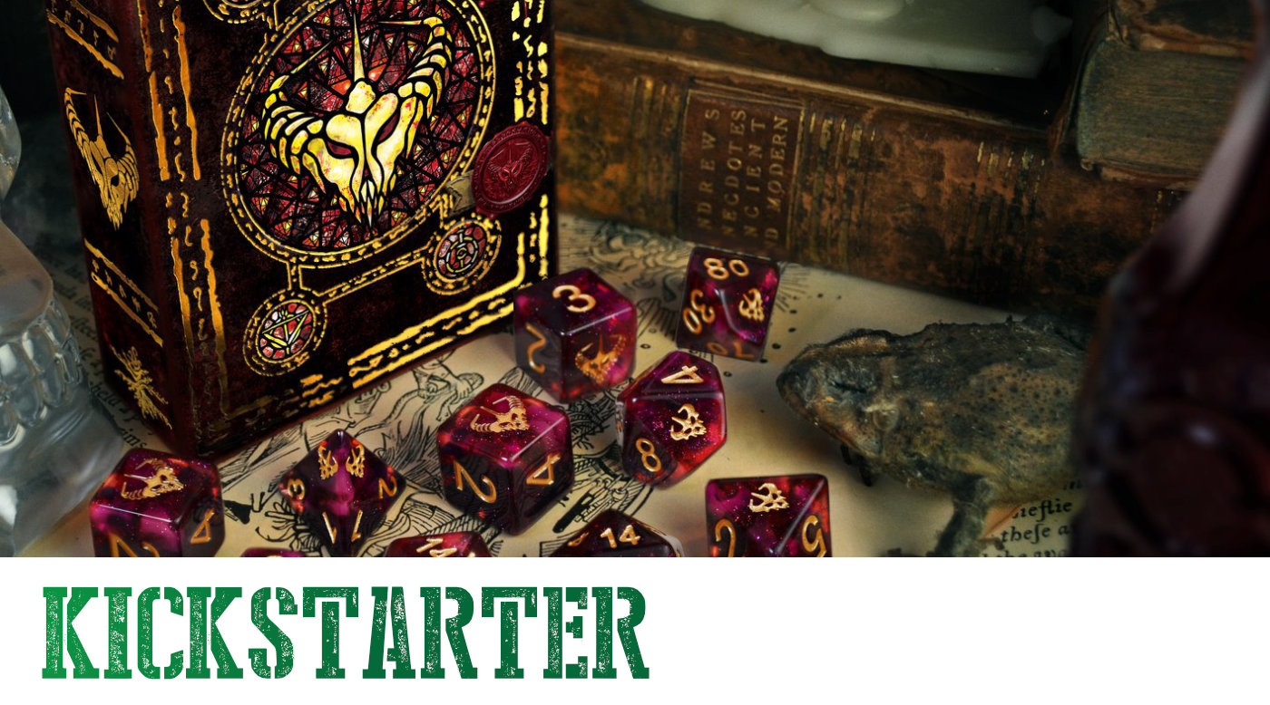 You are currently viewing Elder Dice on Kickstarter