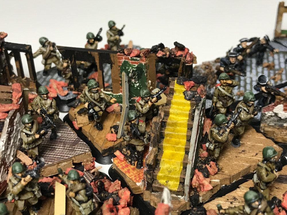 Flames of War 15mm WW2 Russian SMG Company Miniatures