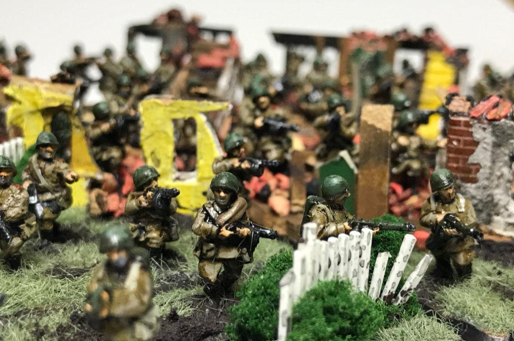 Flames of War Diorama Basing - 15mm WW2 Minaitures