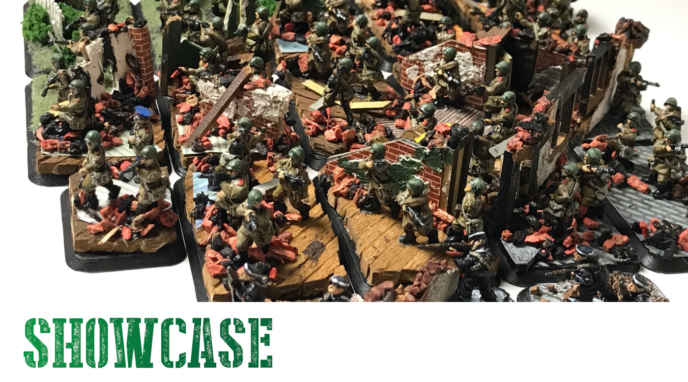 Read more about the article Flames of War Diorama Basing – Russians