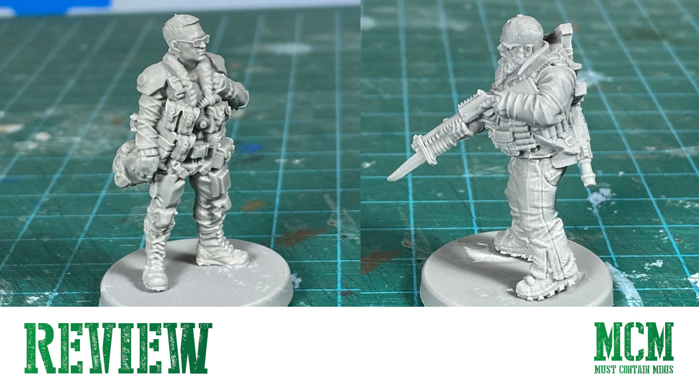 Read more about the article Cyberpunk Red Miniatures Review – Team Monster Set