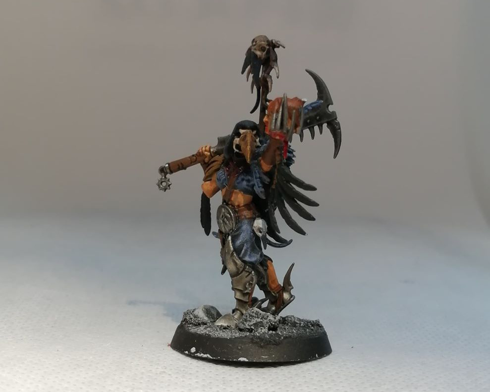 Painted Shadow Piercer - Warcry by Games Workshop