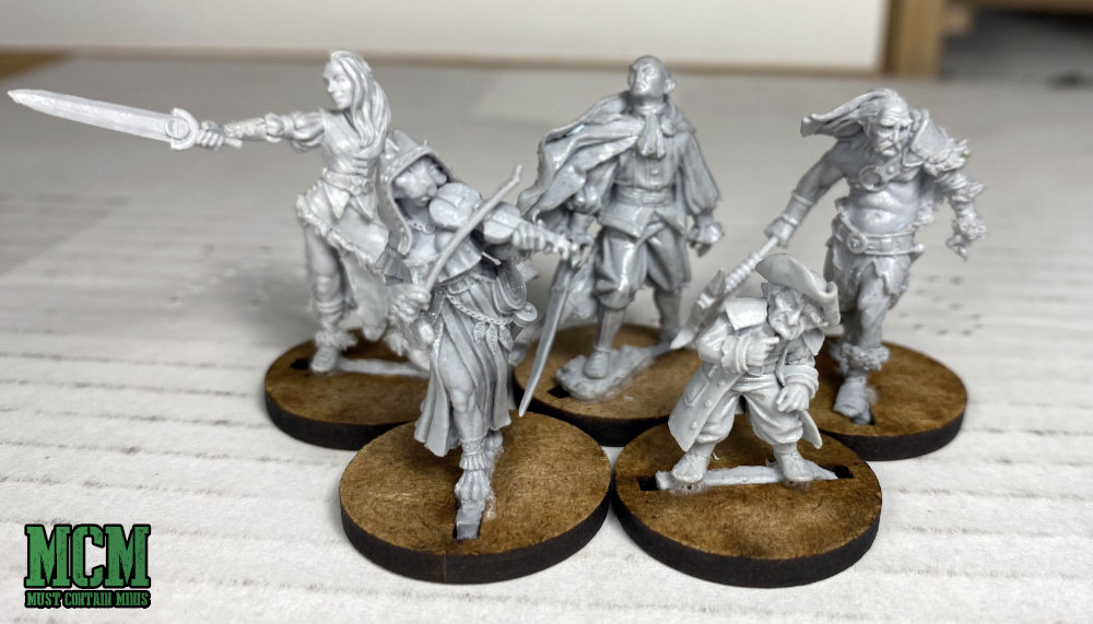 Westfalia miniatures review - 32mm miniatures for Fantasy gaming and RPGs.