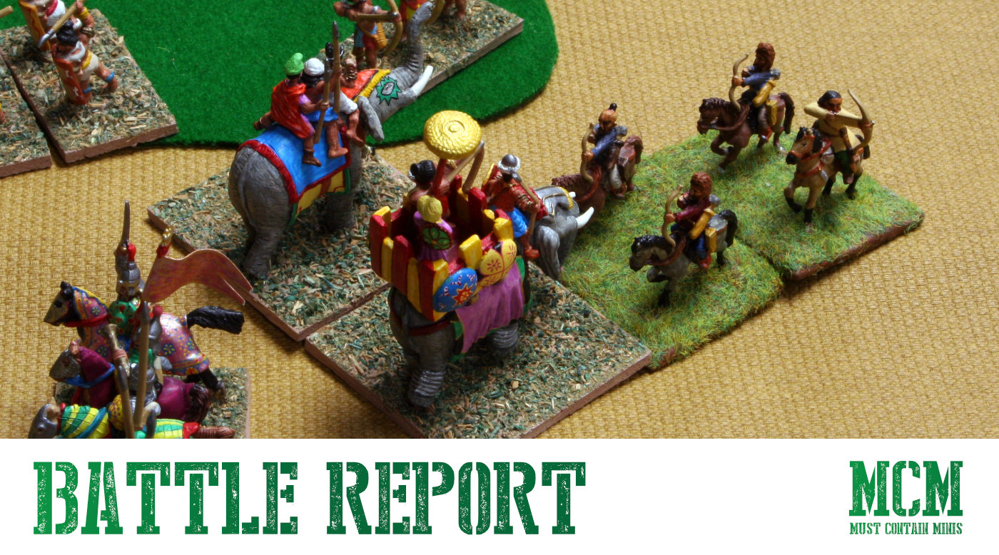 Read more about the article DBA Battle Report – Medieval Hindu vs Turkish Army
