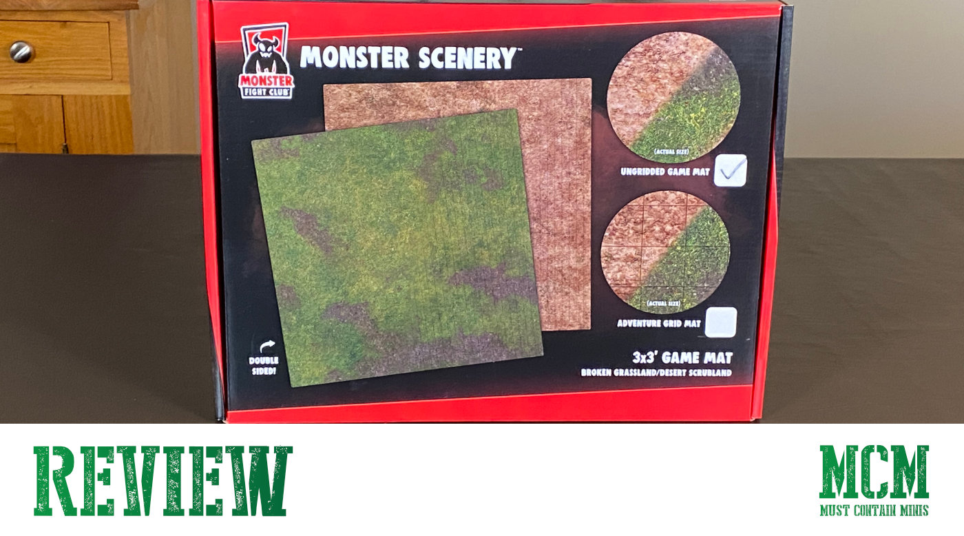 Read more about the article Monster Scenery Game Mat Review