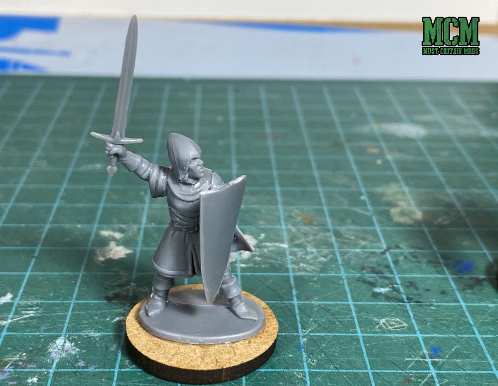 Oathmark Elf Light Infantry in Frostgrave - A knight
