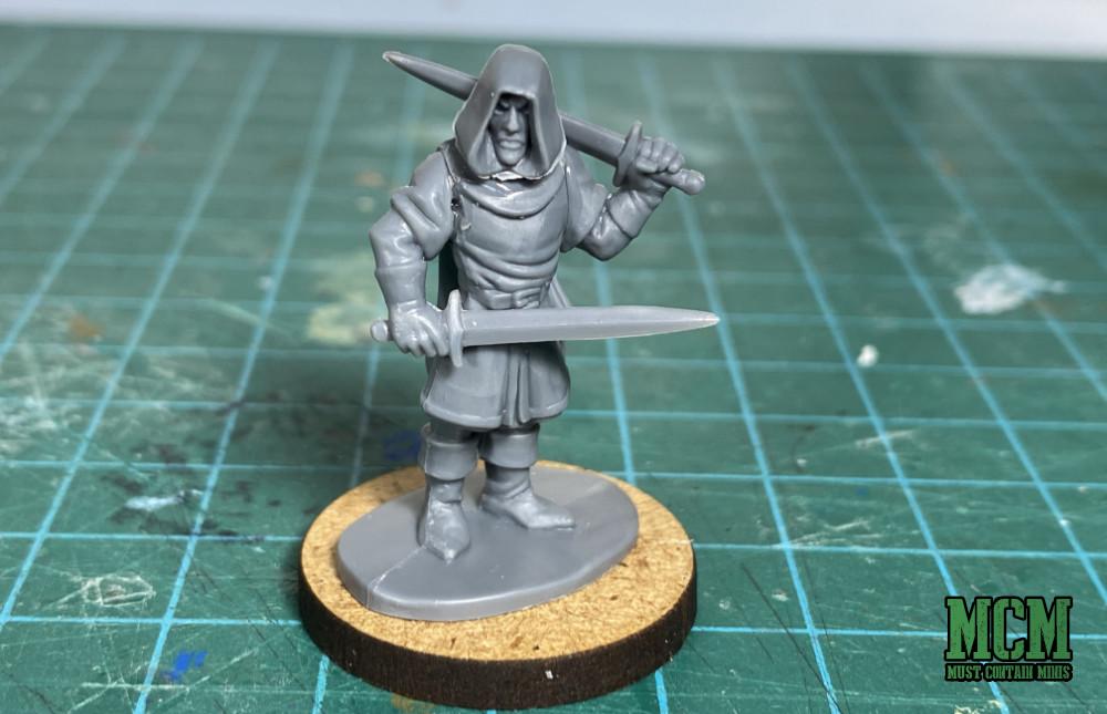 Oathmark Elf Light Infantry in Frostgrave - A Treasure Hunter