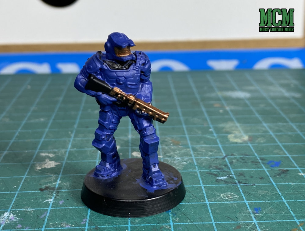 Painting a Legions of Steel Miniature - Miniatures for Board Games