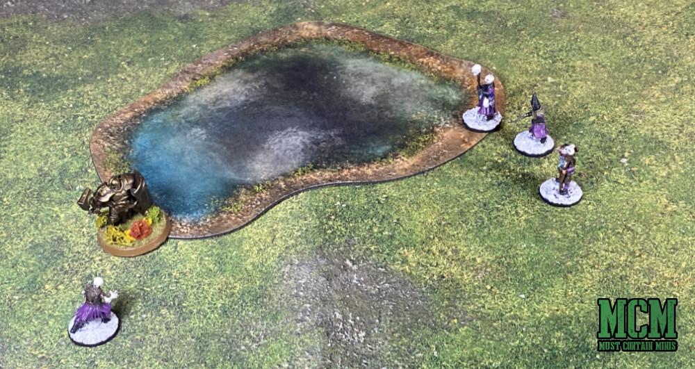 A neoprene pond