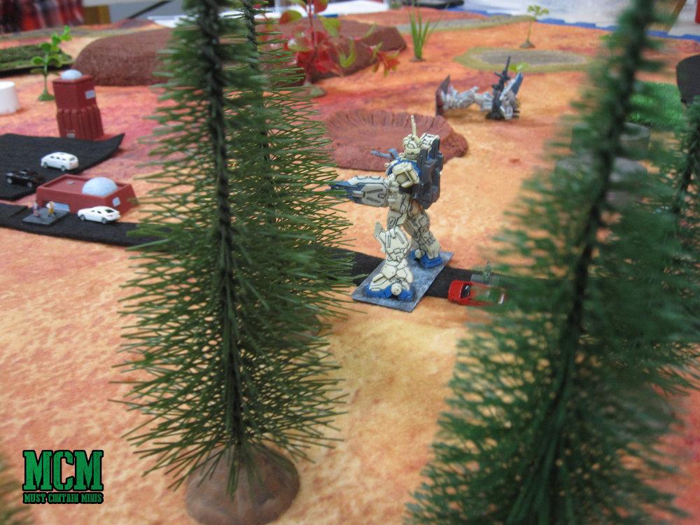 Gundam Style Miniatures Game