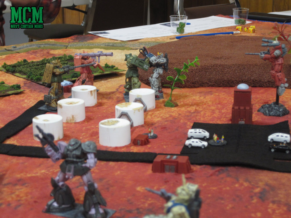 Giant Combat Robots Game - Pacific Rim Style Indie Miniatures Game