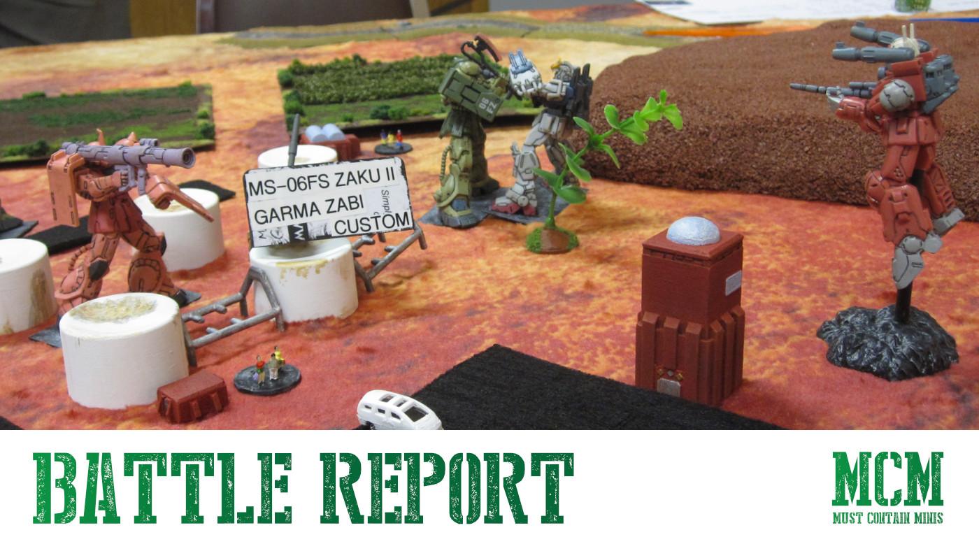 Read more about the article Samurai Robots Battle Royale Battle Report