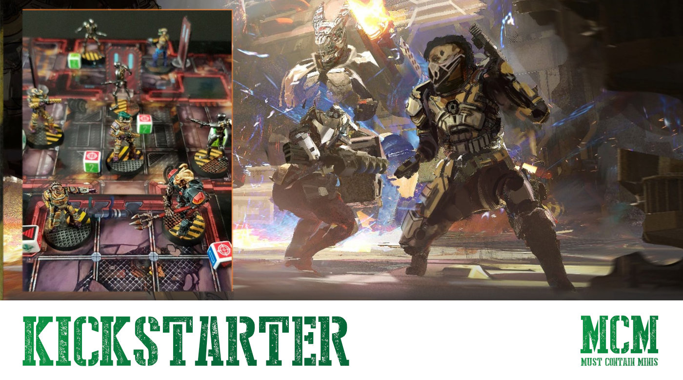 Read more about the article Legions of Steel: Operation Anvil on Kickstarter
