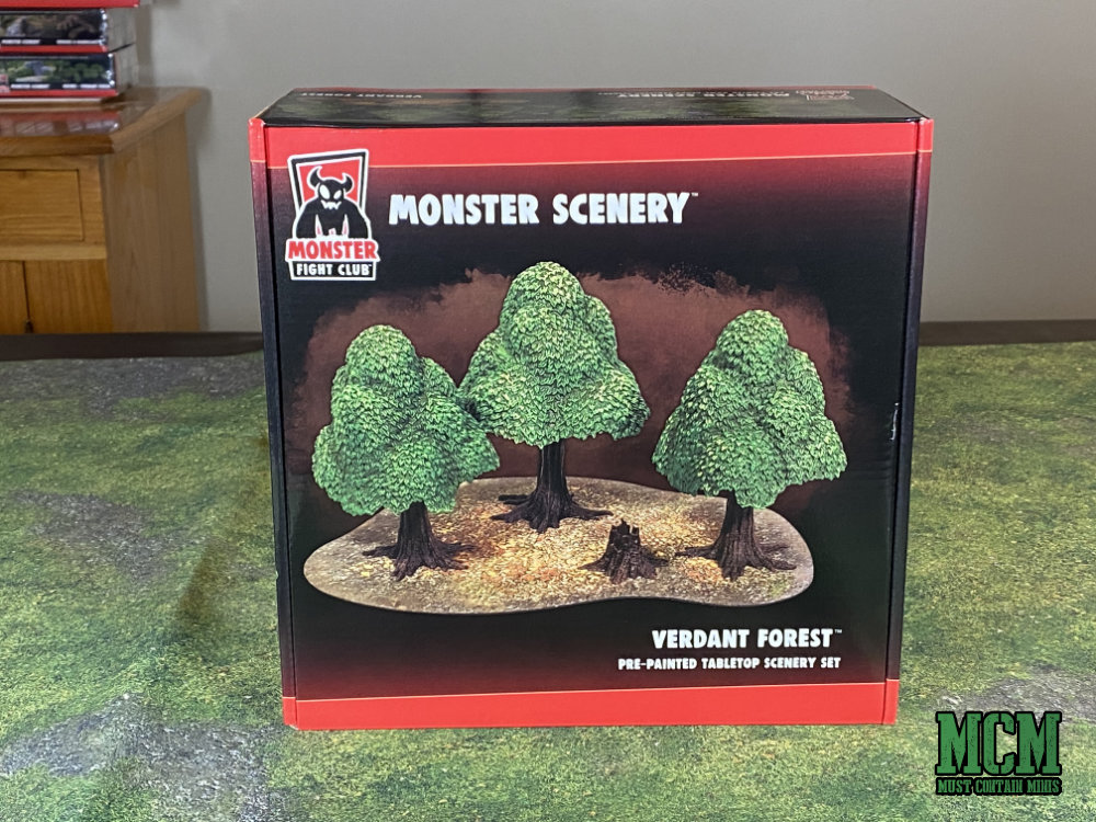 Monster Scenery Verdant Forest terrain Review