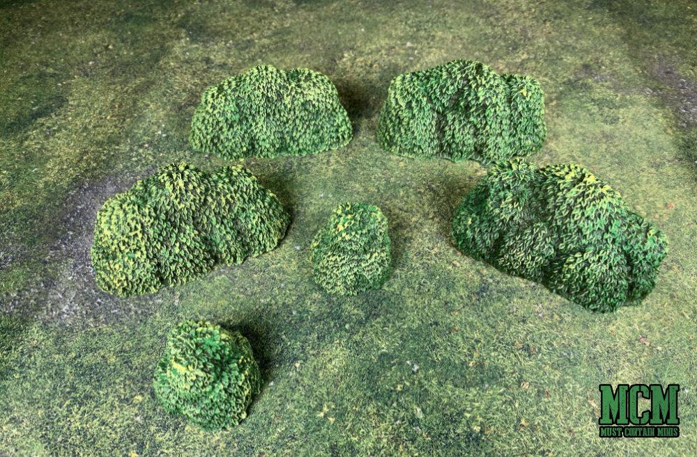 RPG terrain - bushes