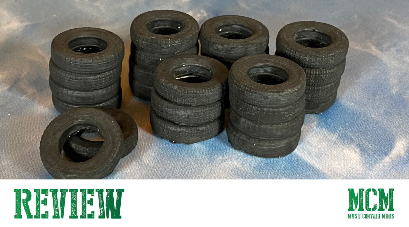 Read more about the article Tires Scatter Terrain Review – Six Squared Studios