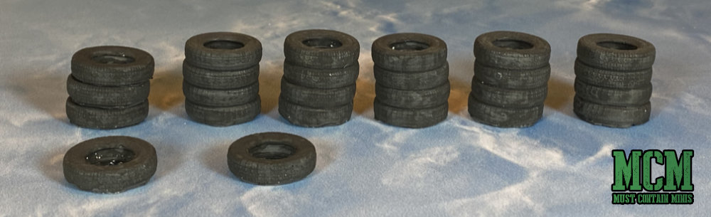 Six Squared Studios tires scatter terrain review