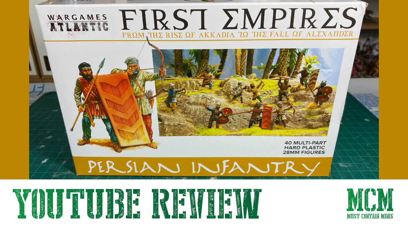 You are currently viewing A New YouTube Video – Persian Infantry