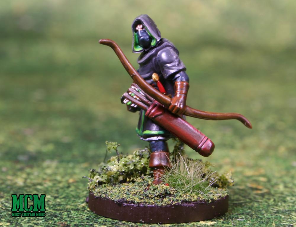 Oathmark Light Elf Infantry - Painted Ranger