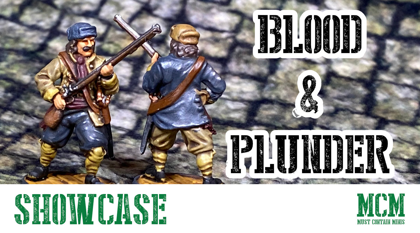 Read more about the article Dutch Kapers Miniatures Showcase – Blood & Plunder