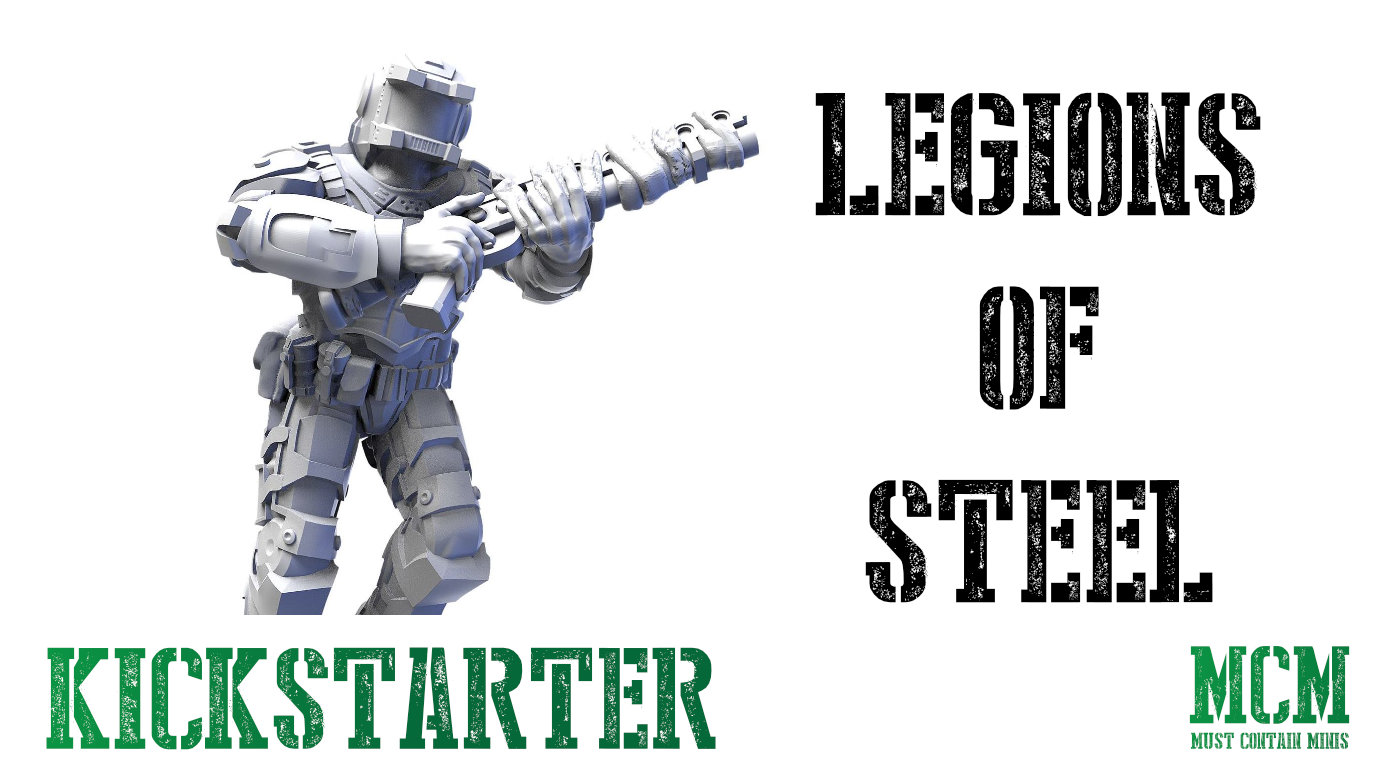 Read more about the article Legions of Steel: Operation Anvil Kickstarter Update
