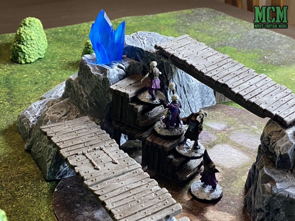 Ice Crystals as objective markers in Frostgrave