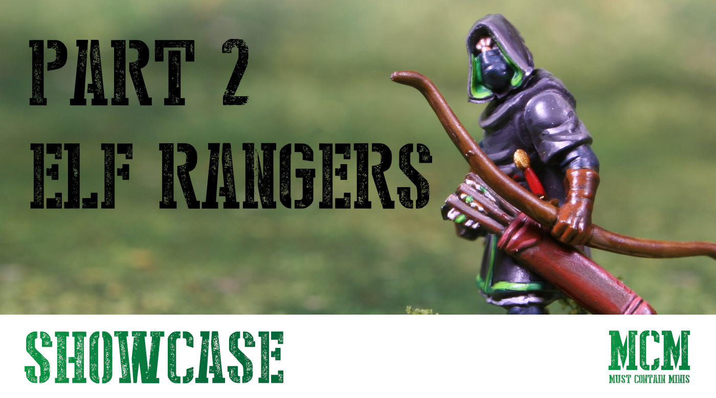 Read more about the article Part 2 – Oathmark Rangers Painted Miniatures Showcase