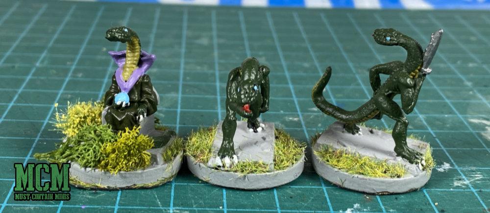 Cthulhu Miniatures Serpent Men