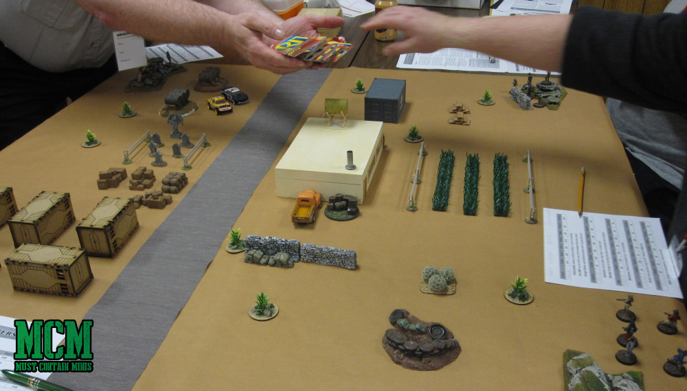 A neat looking gaming table