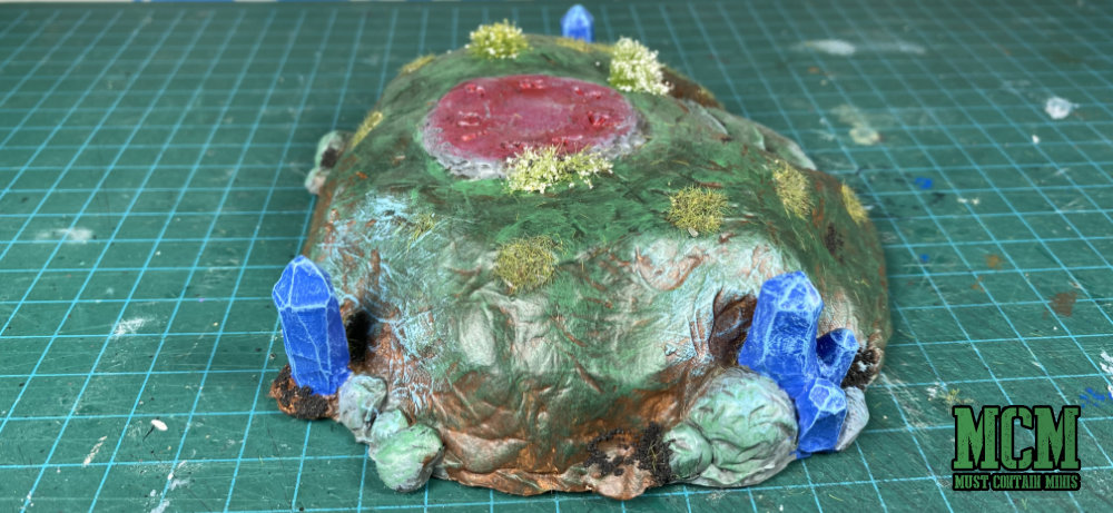 Terrain review - summoning mound