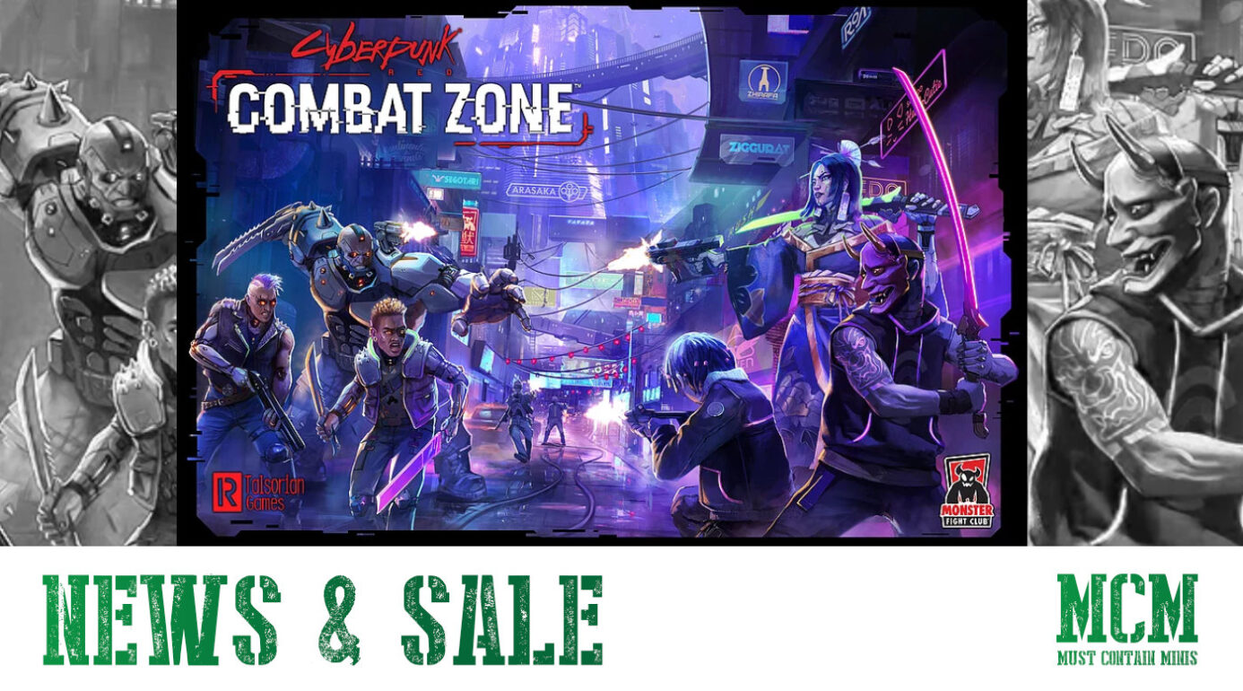 Read more about the article Cyberpunk Red News – Sale & Miniatures Game